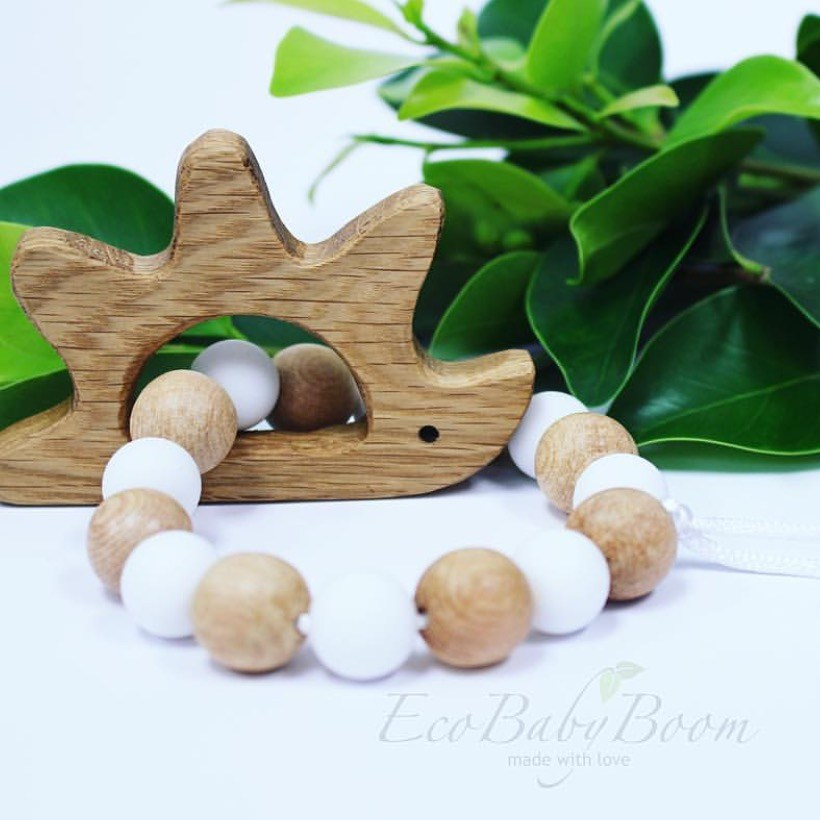 Wooden Teething Toys by Eco Baby Boom