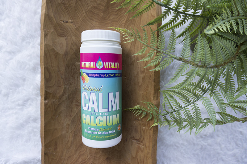 natural calm magnesium with calcium during pregnancy to help sleep - tiny green earthling