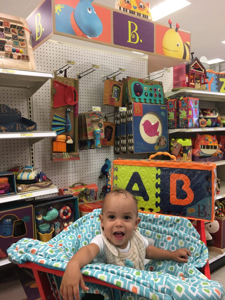 b. toys eco-friendly baby products at Target