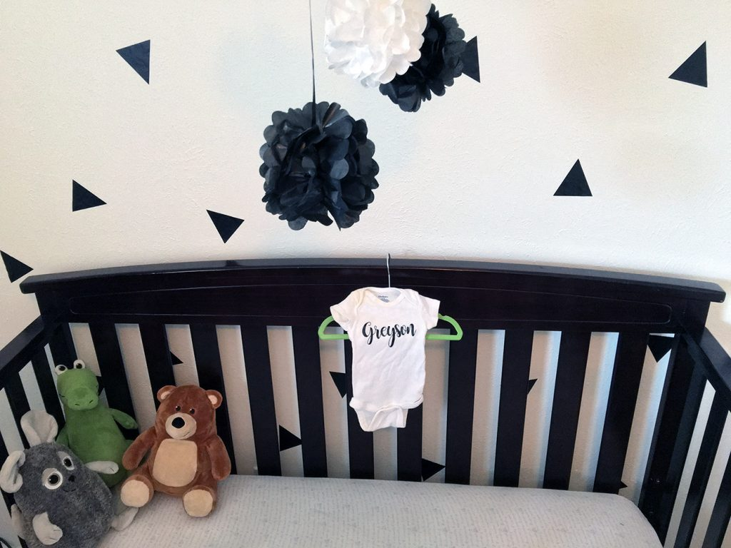 Vintage Modern Gender Neutral Nursery