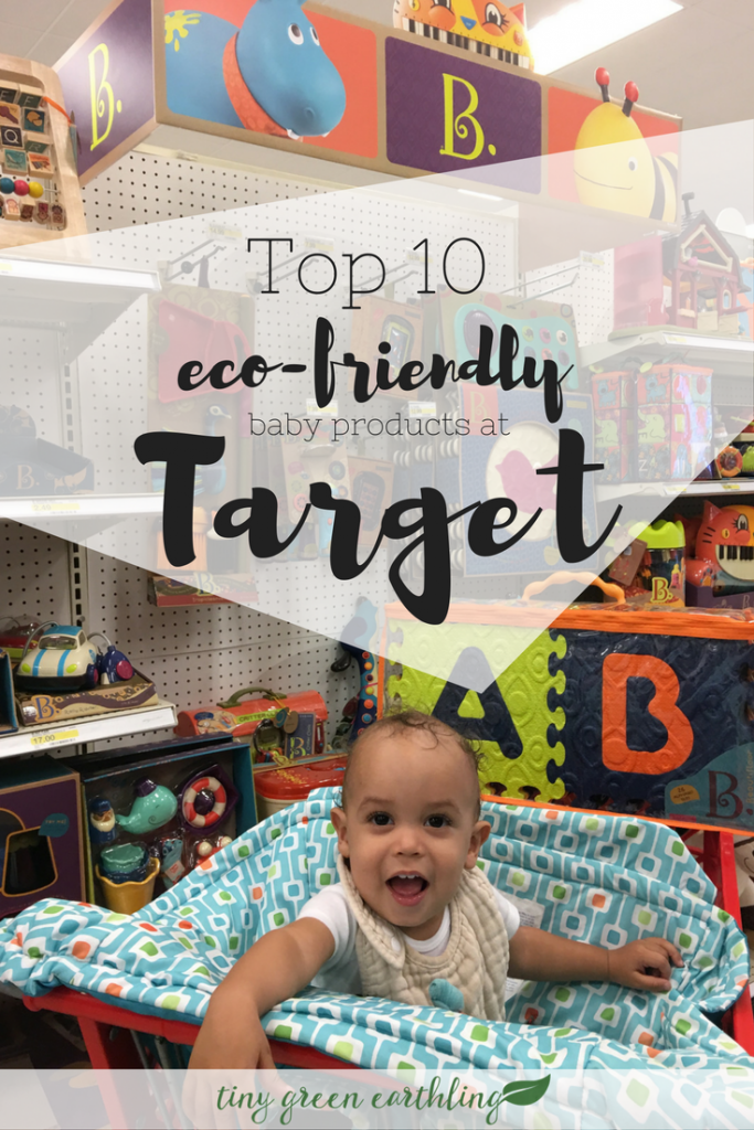 eco-friendly at target baby products