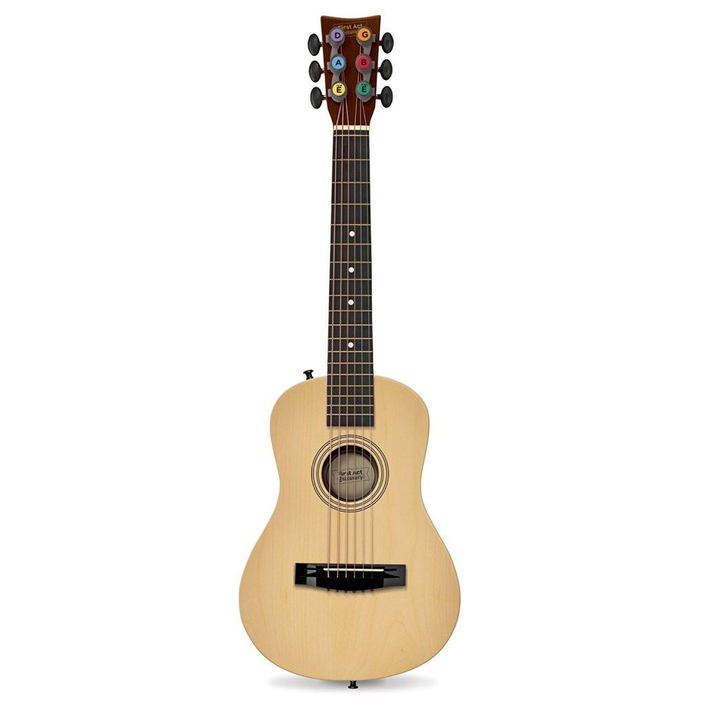 guitar for Christmas Tiny Green Earthling