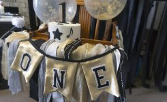 Greyson's Vintage Music Themed First Birthday Party