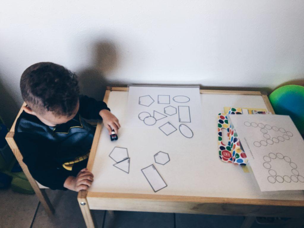 free homeschool printable shapes
