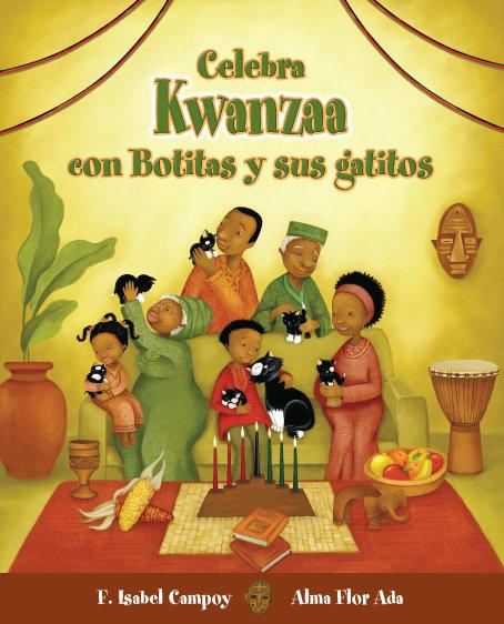 Celebra Kwanzaa con Bonitas y sus gatos