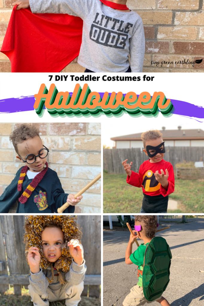 DIY Halloween Costumes - toddler costumes