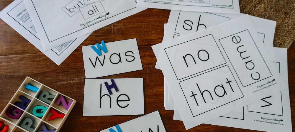 Dolch Sight Words Flash Cards blog post