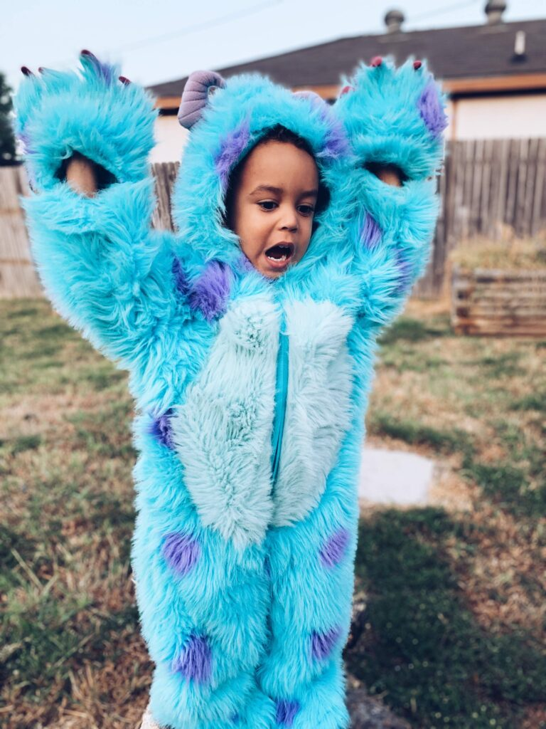 Monsters Inc Sully costume for kids