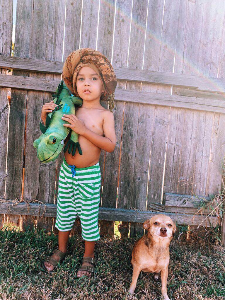 Tarzan style costume - toddler Halloween costumes