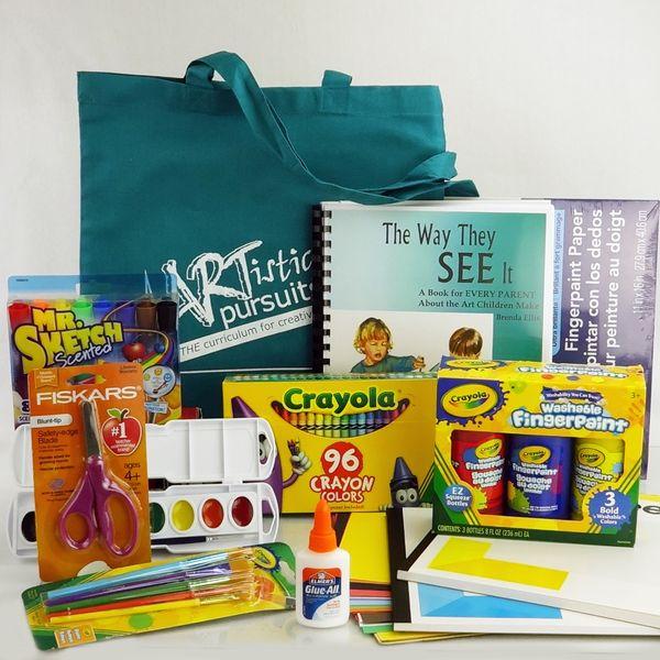 artistic pursuits - homeschool preschool art curriculum