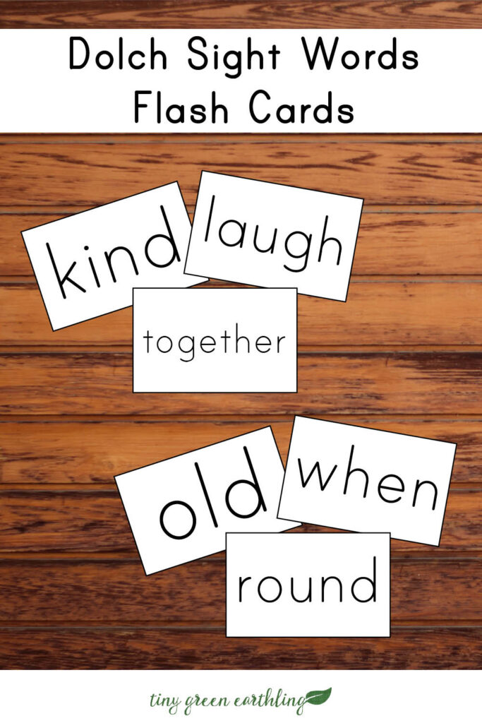 dolch sight words pins with sight words pin