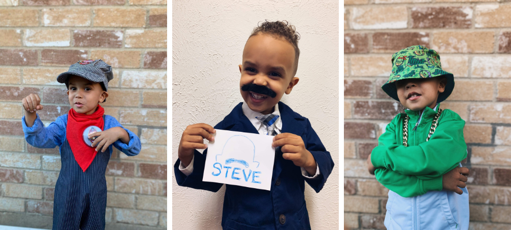 halloween costumes for toddlers - use what you have at home