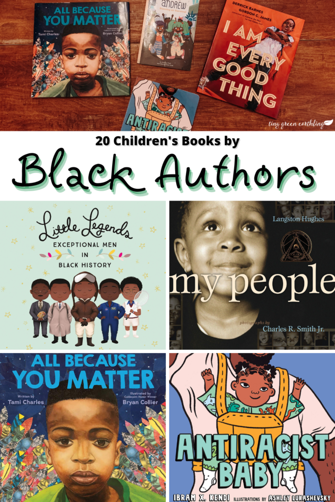 20 Children's Books by Black authors