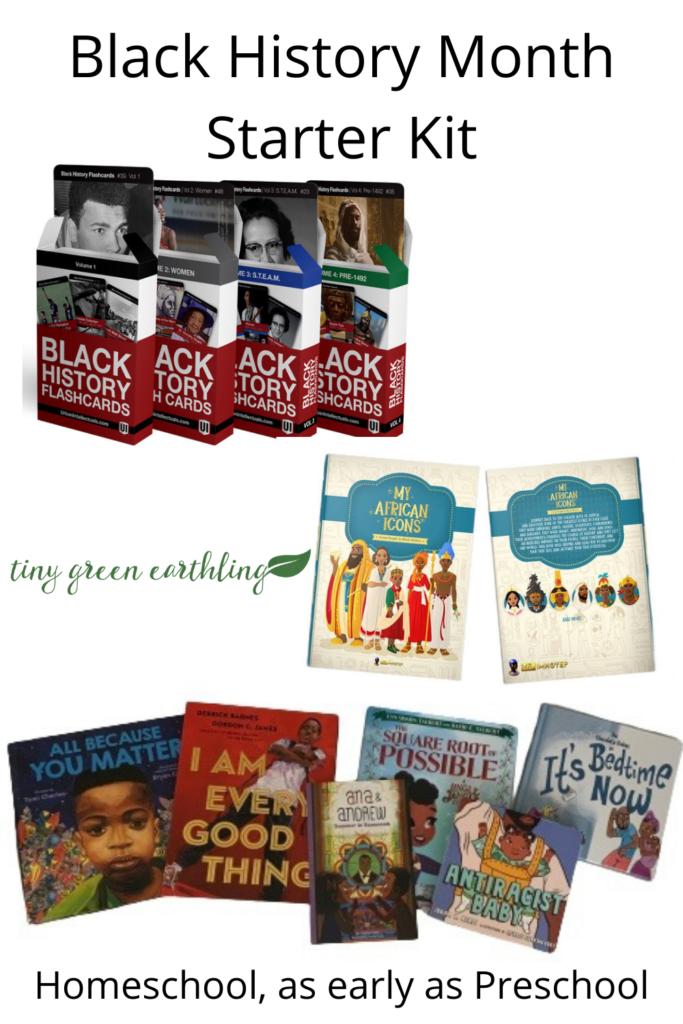 Black History Month Resources - Starter Kit, Homeschool and Preschool